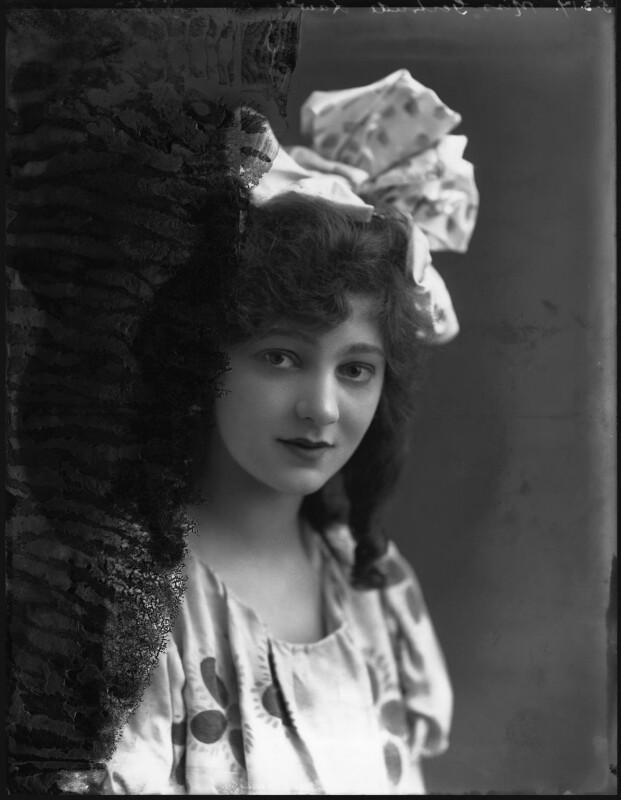 Gertrude Lawrence, by Bassano Ltd, 5 March 1917 - NPG x30909 - © National Portrait Gallery, London