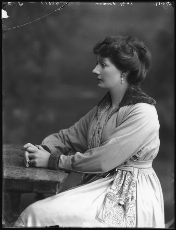 Florence Priscilla (née McLaren), Lady Norman, by Bassano Ltd, 5 January 1917 - NPG x68901 - © National Portrait Gallery, London