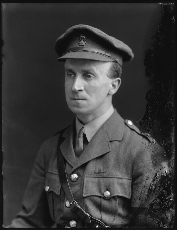 John Buchan, 1st Baron Tweedsmuir, by Bassano Ltd, 24 May 1917 - NPG x75736 - © National Portrait Gallery, London