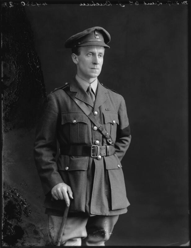 John Buchan, 1st Baron Tweedsmuir, by Bassano Ltd, 24 May 1917 - NPG x75737 - © National Portrait Gallery, London