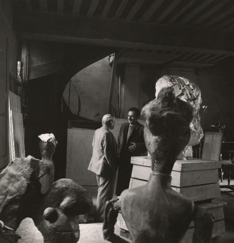 Pablo Picasso; Balthus, by Cecil Beaton, 1945 - NPG x40331 - © Cecil Beaton Studio Archive, Sotheby's London