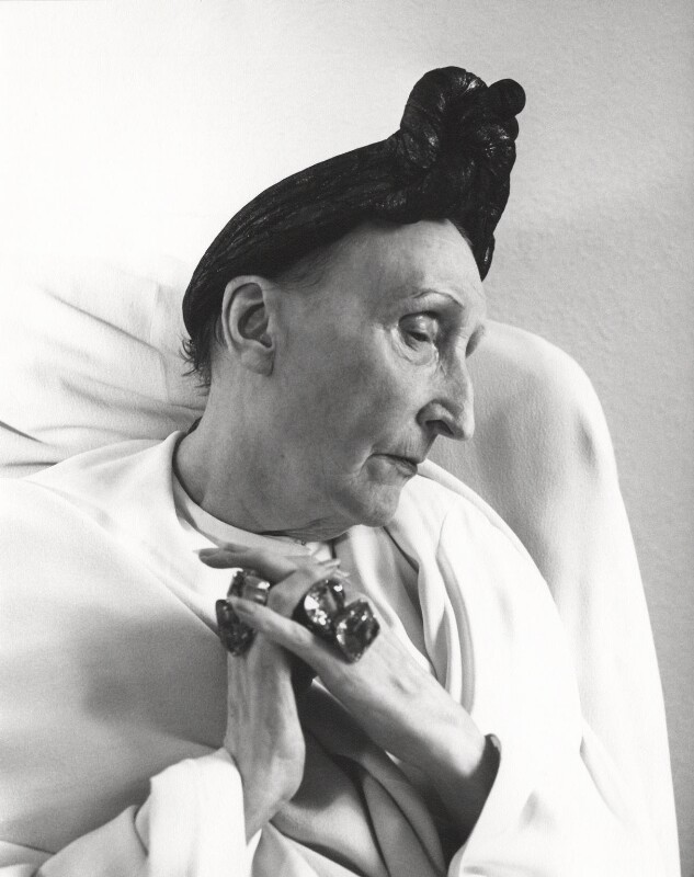 Edith Sitwell, by Cecil Beaton, July 1962 - NPG x40366 - © Cecil Beaton Studio Archive, Sotheby's London