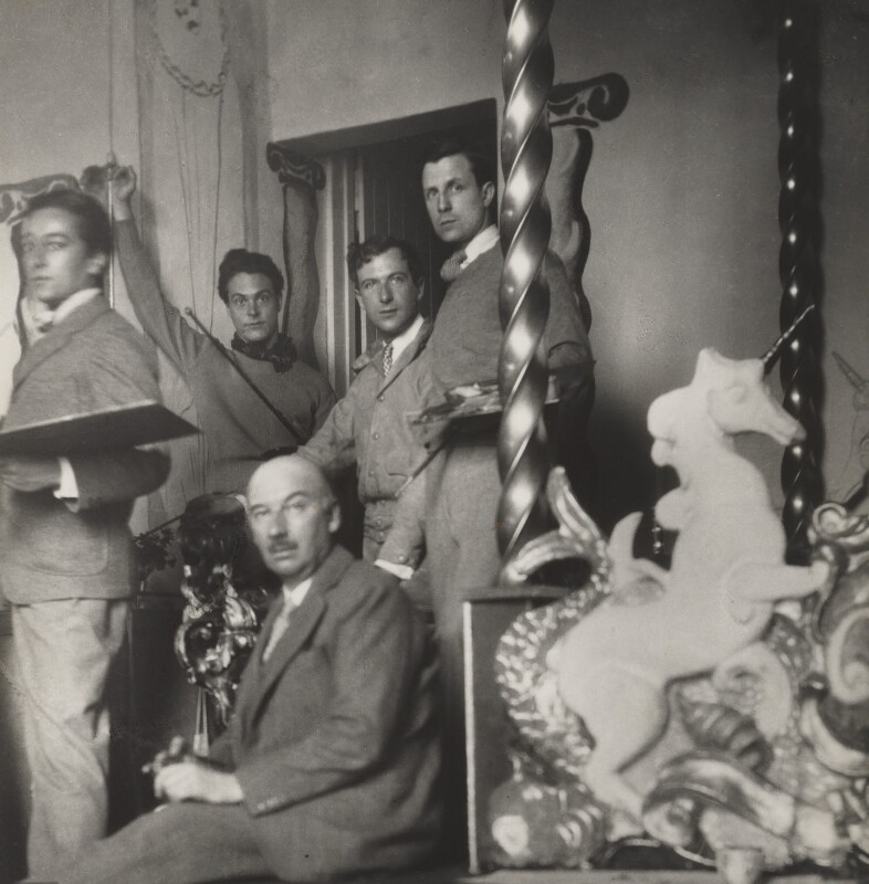 Rex Whistler; Gerald Tyrwhitt-Wilson, 14th Baron Berners; Oliver Messel; Cecil Beaton, by Cecil Beaton, 1931 - NPG x40681 - © Cecil Beaton Studio Archive, Sotheby's London