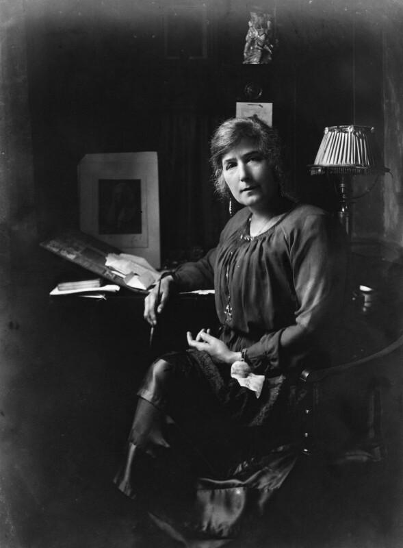 Gertrude Kingston, by Bassano Ltd, 24 October 1919 - NPG x18924 - © National Portrait Gallery, London