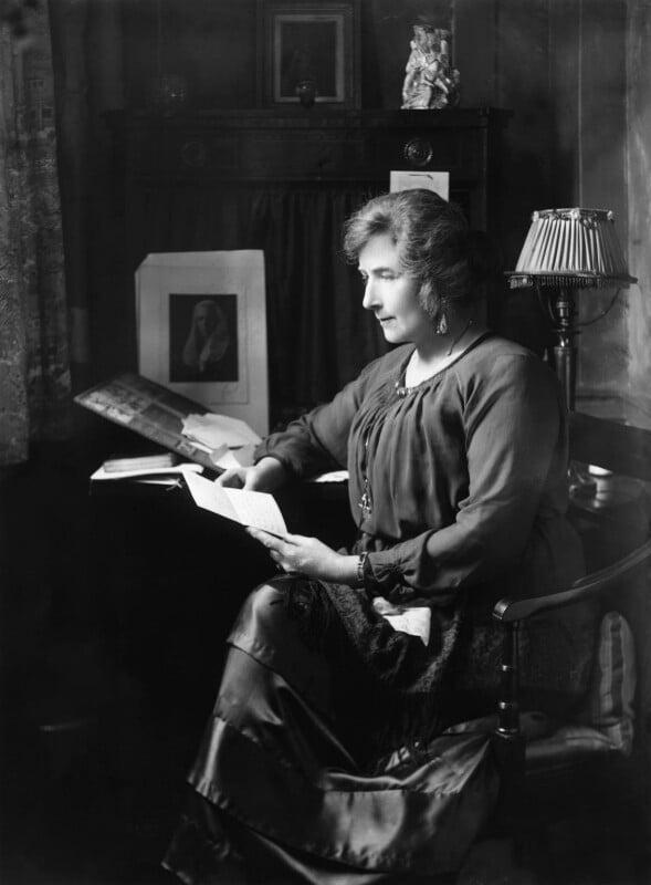 Gertrude Kingston, by Bassano Ltd, 24 October 1919 - NPG x18925 - © National Portrait Gallery, London