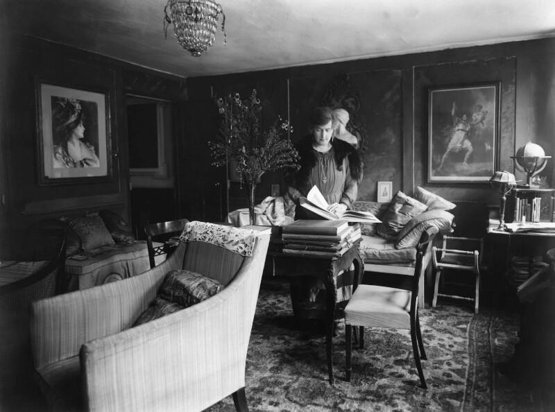Gertrude Kingston, by Bassano Ltd, 24 October 1919 - NPG x18926 - © National Portrait Gallery, London