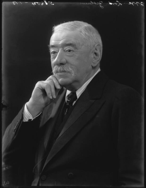 Lawrence Dundas, 1st Marquess of Zetland, by Bassano Ltd, 2 July 1921 - NPG x37347 - © National Portrait Gallery, London
