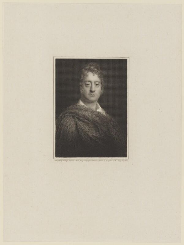 George Watson Taylor, by Edward Scriven, after  George Sanders (Saunders), 1828 (1808) - NPG D16023 - © National Portrait Gallery, London