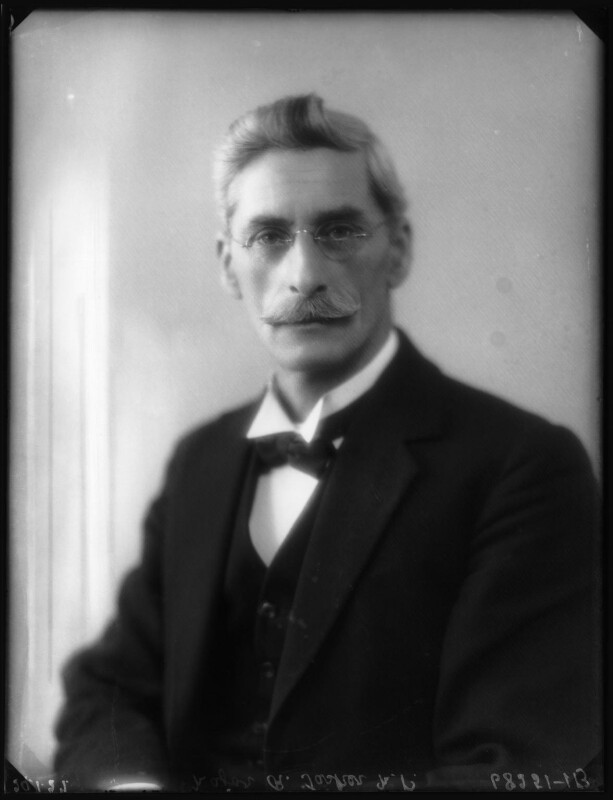 Sir Robert Inigo Tasker, by Bassano Ltd, 29 January 1927 - NPG x123782 - © National Portrait Gallery, London