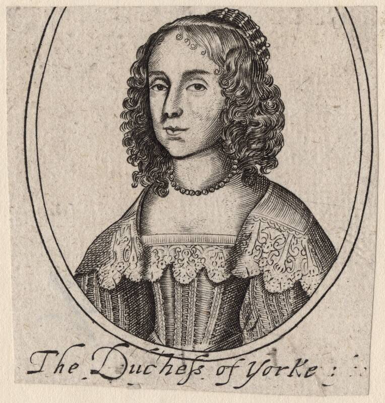 Anne Hyde, Duchess of York, after Unknown artist, 1660s - NPG D18590 - © National Portrait Gallery, London