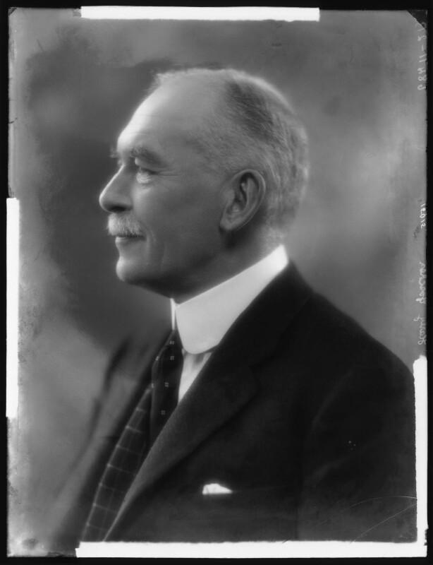 Sir Harry William Henry Neville Goschen, 1st Bt, by Bassano Ltd, March 1927 - NPG x123835 - © National Portrait Gallery, London