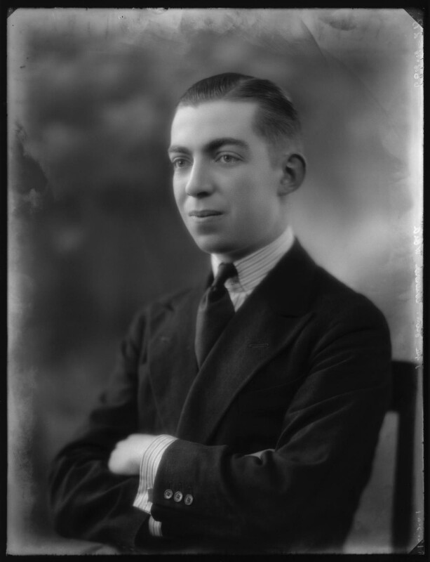 Edward Henry Harold Ward, 7th Viscount Bangor, by Bassano Ltd, 12 March 1927 - NPG x123837 - © National Portrait Gallery, London