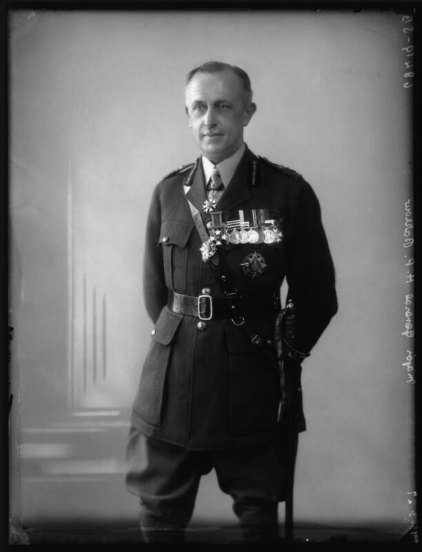 Harold Percy Waller Barrow, by Bassano Ltd, 15 March 1927 - NPG x123838 - © National Portrait Gallery, London