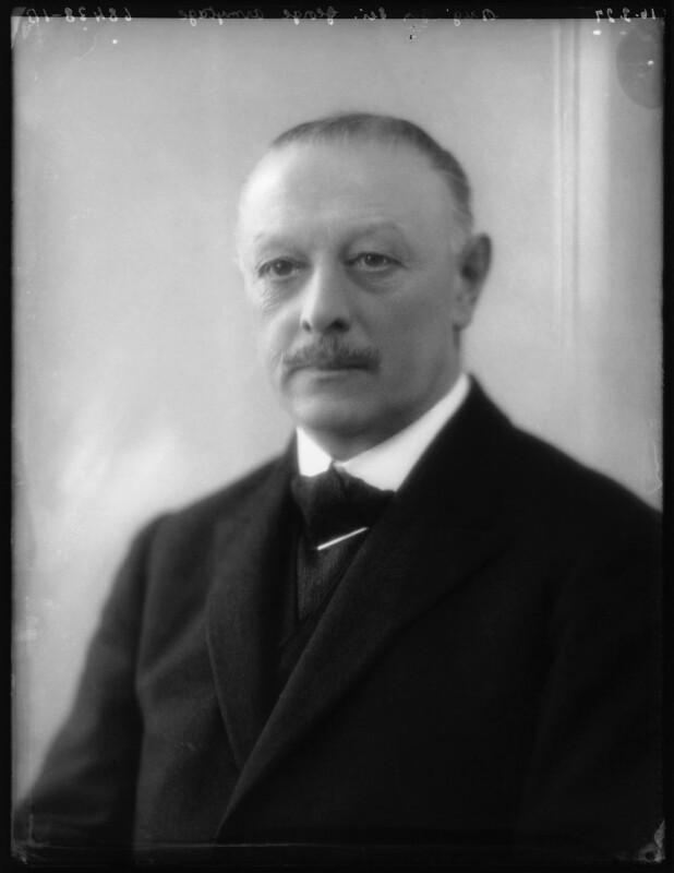 Sir George Ayscough Armytage, 7th Bt, by Bassano Ltd, 16 March 1927 - NPG x123849 - © National Portrait Gallery, London