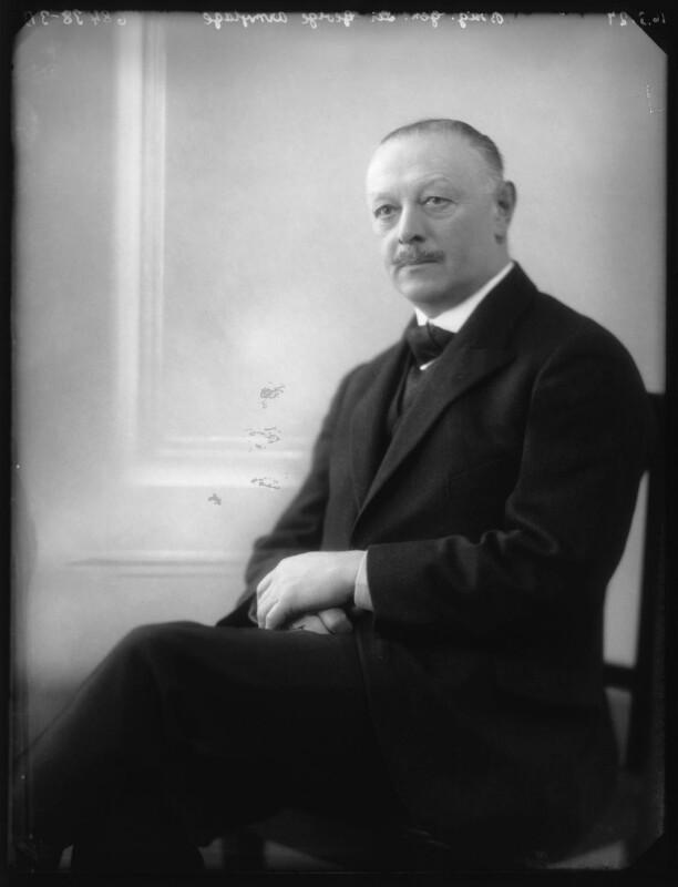 Sir George Ayscough Armytage, 7th Bt, by Bassano Ltd, 16 March 1927 - NPG x123850 - © National Portrait Gallery, London
