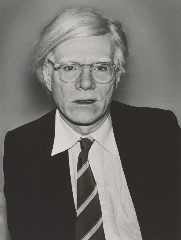 Andy Warhol, by John Swannell, 1979 - NPG x87612 - © John Swannell / Camera Press