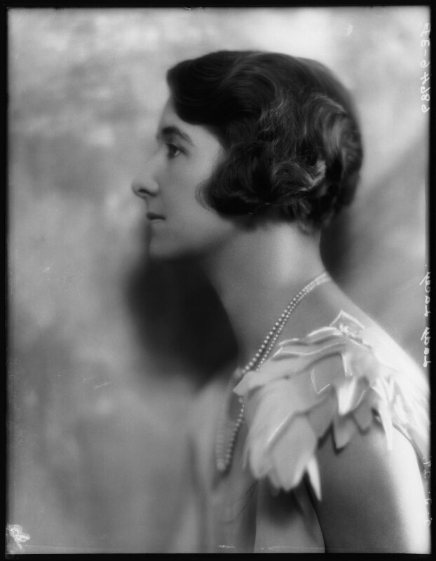 Mary Marshall (née Ramsay), Lady Lacey, by Bassano Ltd, 5 May 1927 - NPG x123886 - © National Portrait Gallery, London
