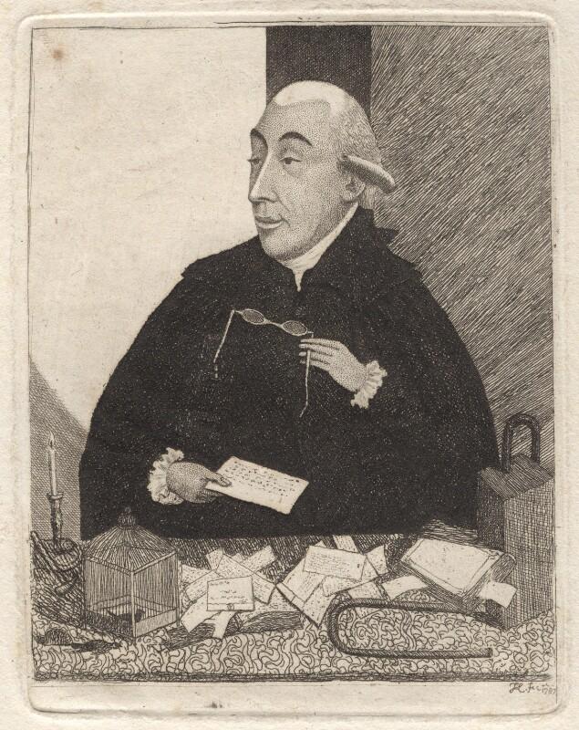 Joseph Black, by John Kay, 1787 - NPG D18644 - © National Portrait Gallery, London