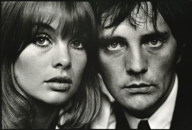 Jean Shrimpton; Terence Stamp, by Terry O'Neill, 1964 - NPG x126318 - © Iconic IMages/Terry O'Neill