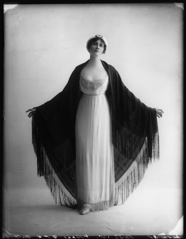 Valli Valli (née Valli Knust), by Bassano Ltd, 8 May 1912 - NPG x101941 - © National Portrait Gallery, London