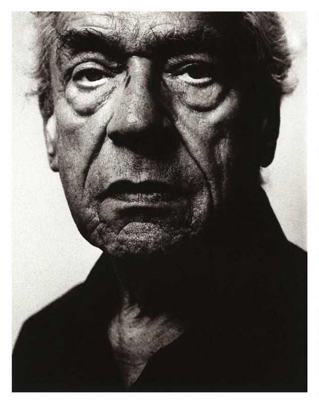 Paul Schofield, by Robin Barton, 1994 - NPG x77021 - © Robin Barton