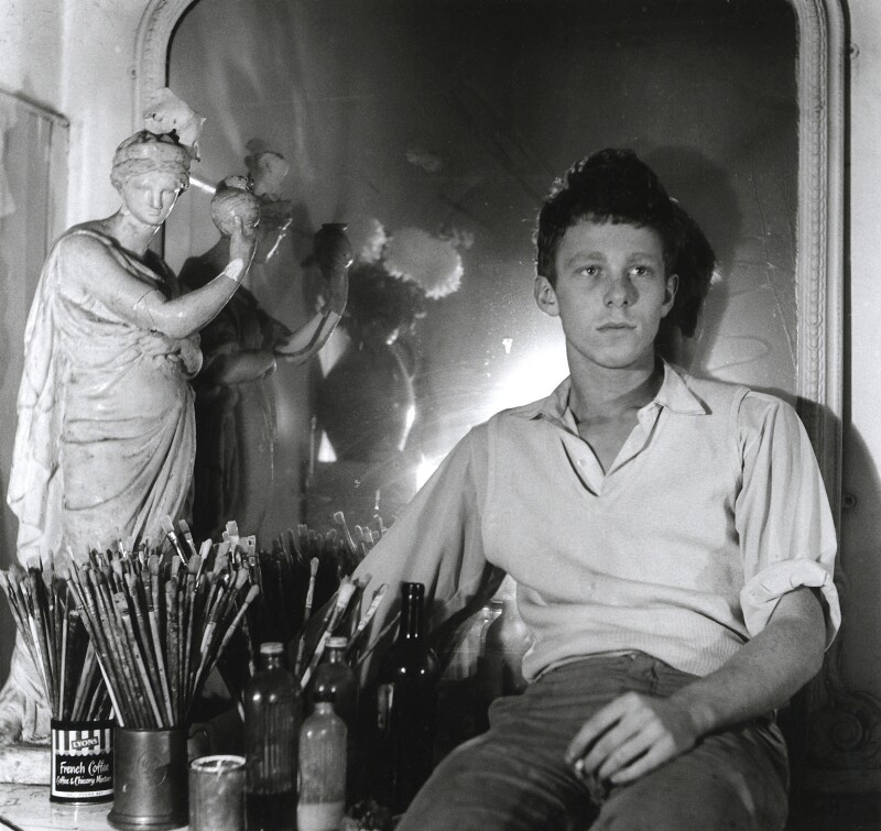 Timothy Behrens, by John Vere Brown, 1958 - NPG x68288 - © Mander and Mitchenson Theatre Collection