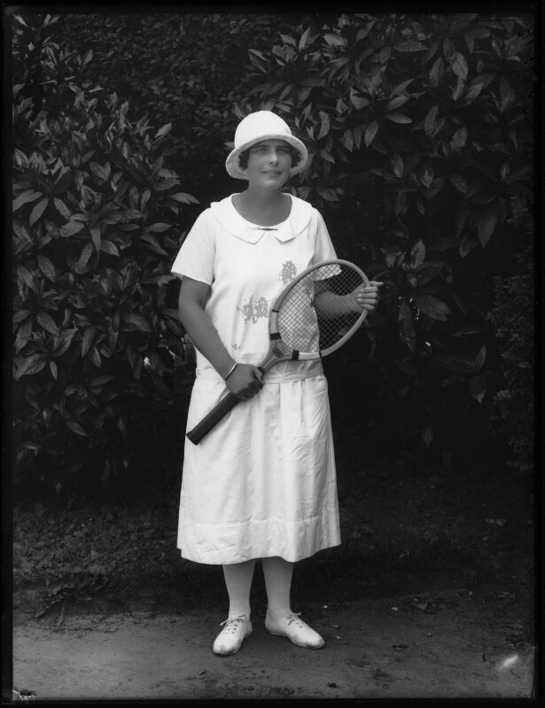 Sylvia Lance (Sylvia Lance Harper), by Bassano Ltd, 1925 - NPG x123956 - © National Portrait Gallery, London