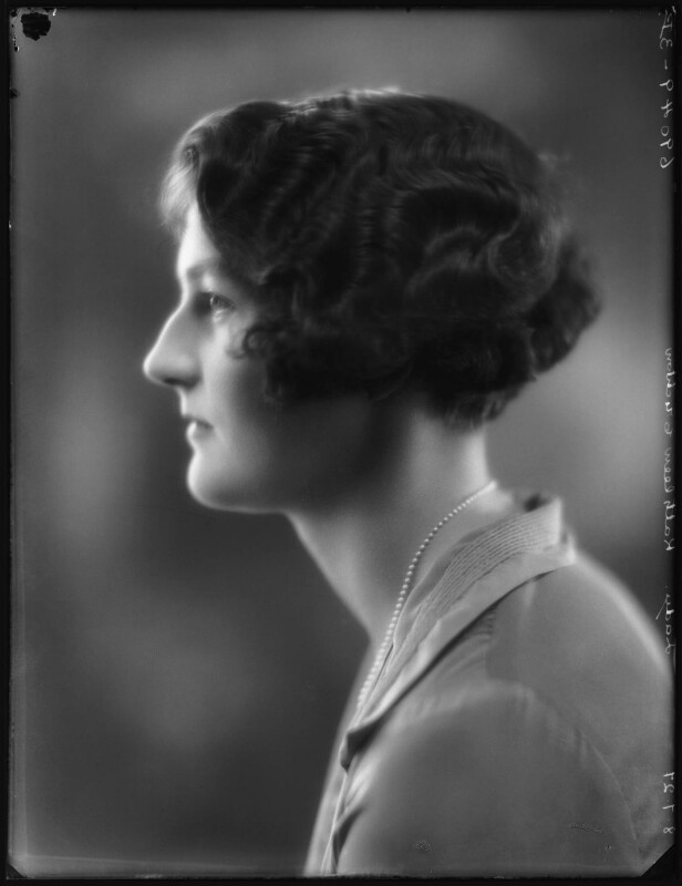 Mary Kathleen (née Crichton), Duchess of Abercorn, by Bassano Ltd, 8 July 1927 - NPG x123993 - © National Portrait Gallery, London