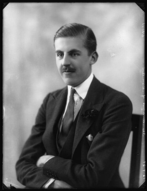 James Edward Hamilton, 4th Duke of Abercorn, by Bassano Ltd, 15 July 1927 - NPG x124011 - © National Portrait Gallery, London