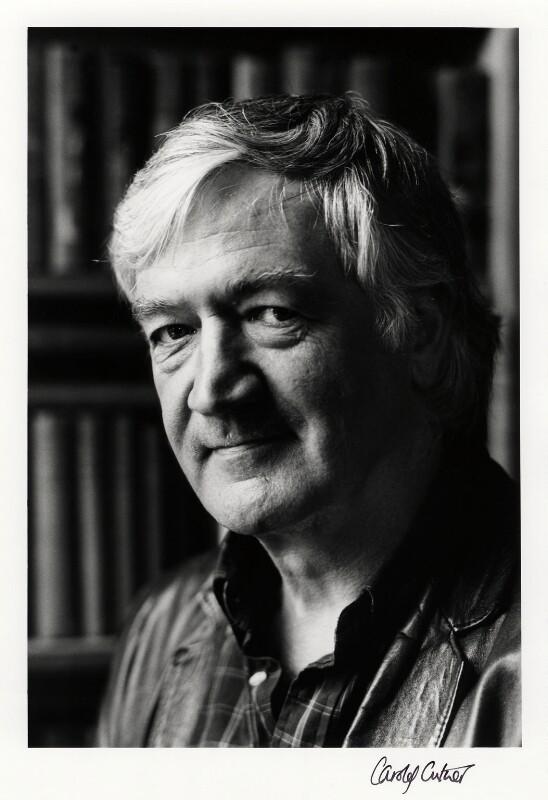 Adrian Mitchell, by Carole Cutner, 13 June 1986 - NPG x26052 - © Carole J Cutner