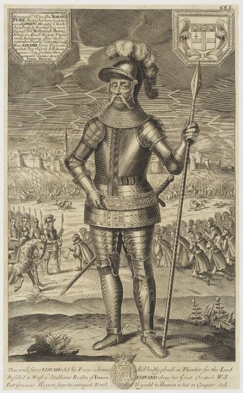 King Edward III, by Unknown artist, published 1688 - NPG D18692 - © National Portrait Gallery, London