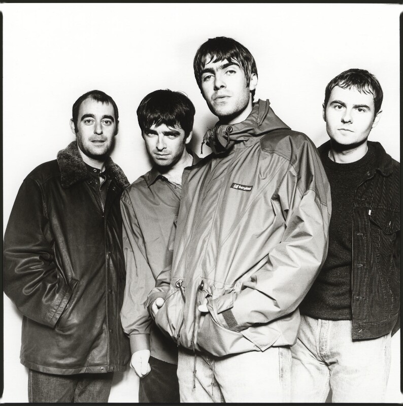 Oasis, by Chris Floyd, 10 September 1995 - NPG x76679 - © Chris Floyd