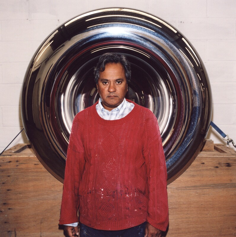 Sir Anish Kapoor, by Trevor Ray Hart, 2003 - NPG x126336 - © Trevor Ray Hart
