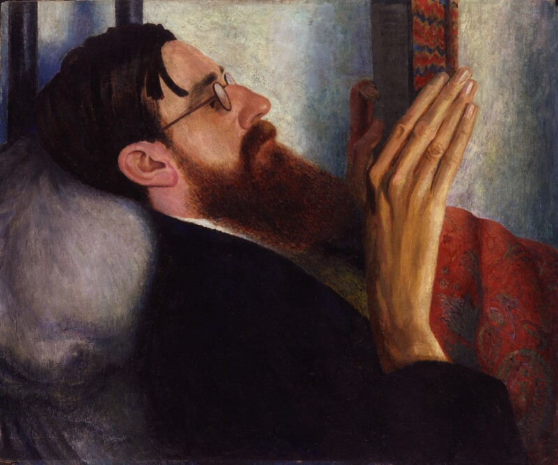 Lytton Strachey, by Dora Carrington, 1916 - NPG 6662 - © National Portrait Gallery, London