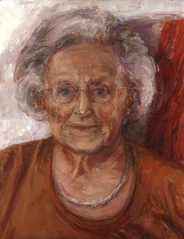 Dame Cicely Mary Strode Saunders, by Catherine Goodman, 2005 - NPG 6704 - © National Portrait Gallery, London