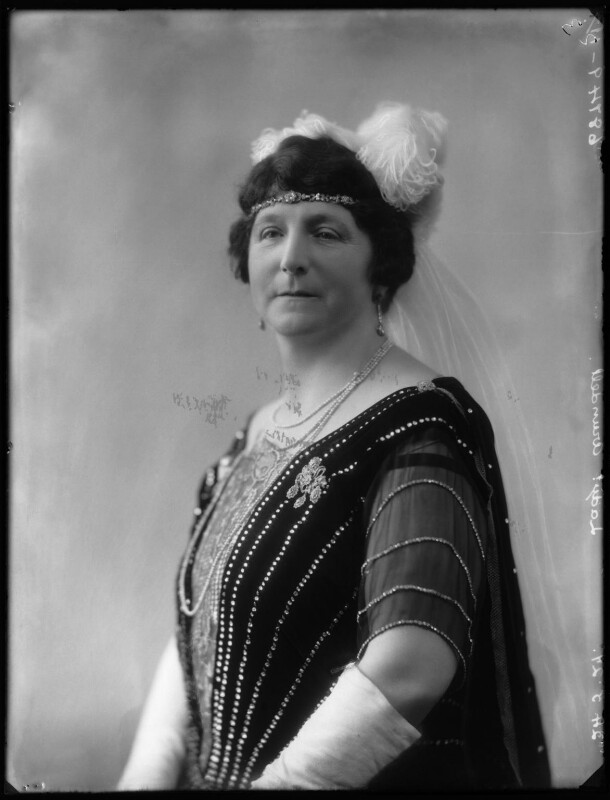 Ivy Florence Mary (née Segrave), Lady Arundell of Wardour, by Bassano Ltd, 24 May 1927 - NPG x124031 - © National Portrait Gallery, London