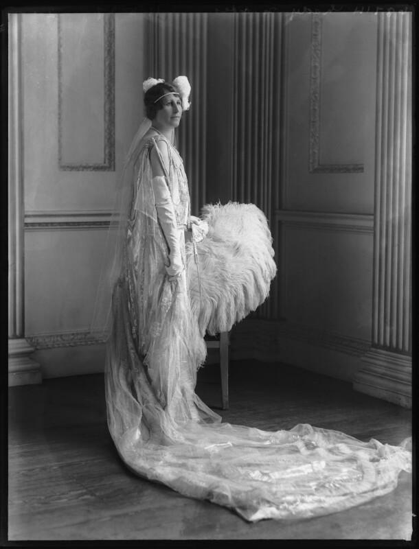 Margaret Emma (née Reiner), Lady Ebbisham, by Bassano Ltd, 19 May 1927 - NPG x124035 - © National Portrait Gallery, London