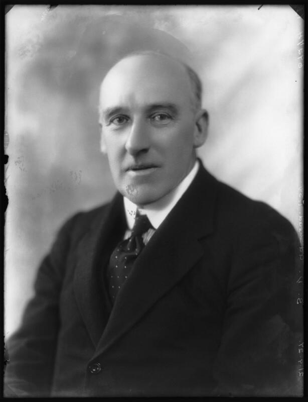 Stanley Davenport Adshead, by Bassano Ltd, 21 September 1927 - NPG x124052 - © National Portrait Gallery, London
