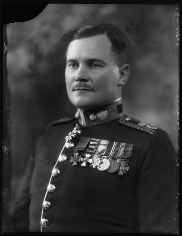 Bernard Cyril Freyberg, 1st Baron Freyberg, by Bassano Ltd, 30 September 1927 - NPG x124058 - © National Portrait Gallery, London