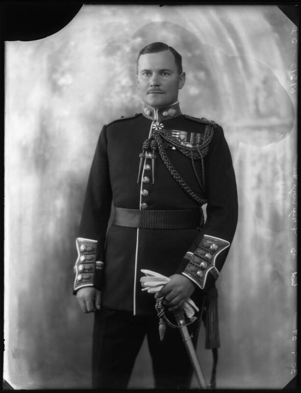 Bernard Cyril Freyberg, 1st Baron Freyberg, by Bassano Ltd, 30 September 1927 - NPG x124060 - © National Portrait Gallery, London