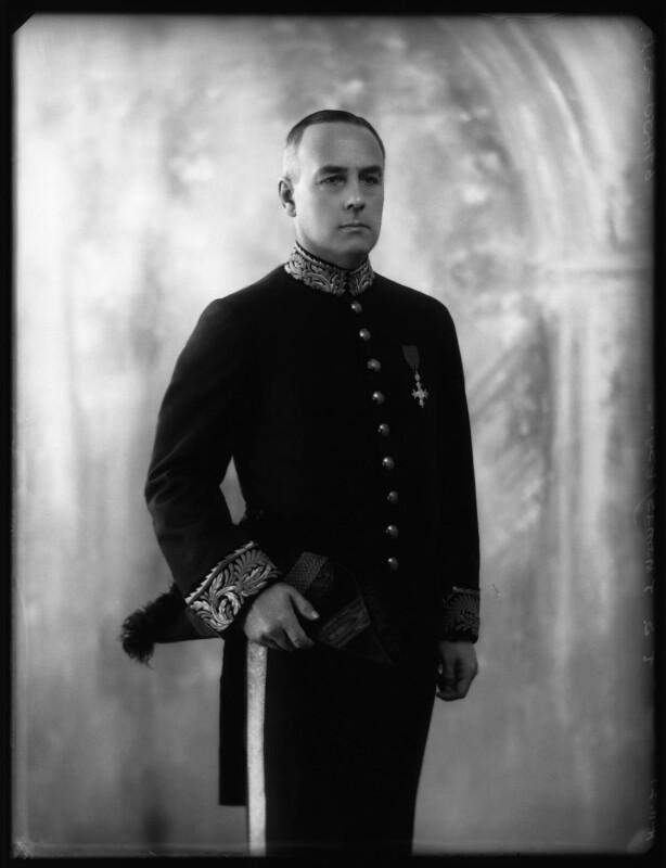 Sir (Thomas) Shenton Whitelegge Thomas, by Bassano Ltd, 4 November 1927 - NPG x124089 - © National Portrait Gallery, London