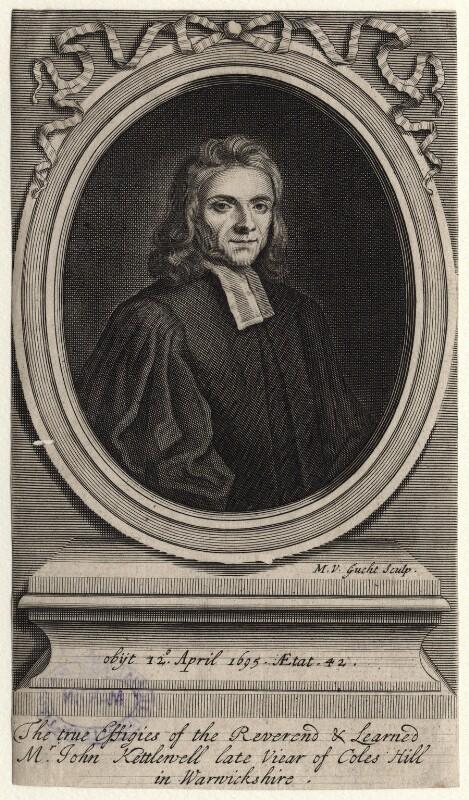 John Kettlewell, by Michael Vandergucht, after  Henry Tilson, 1695-1725 - NPG D16211 - © National Portrait Gallery, London