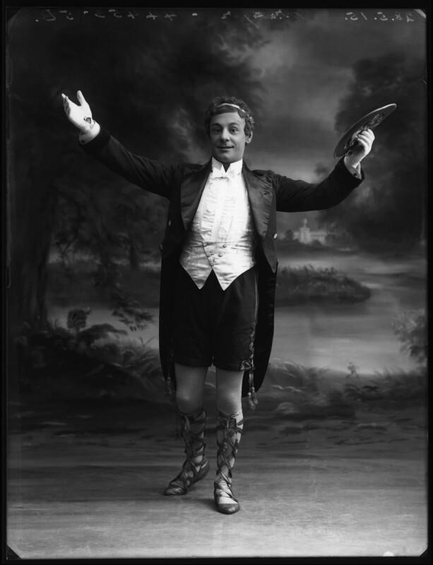 Dan Agar as Simplicitas in the 'Arcadians', by Bassano Ltd, 28 May 1915 - NPG x80671 - © National Portrait Gallery, London