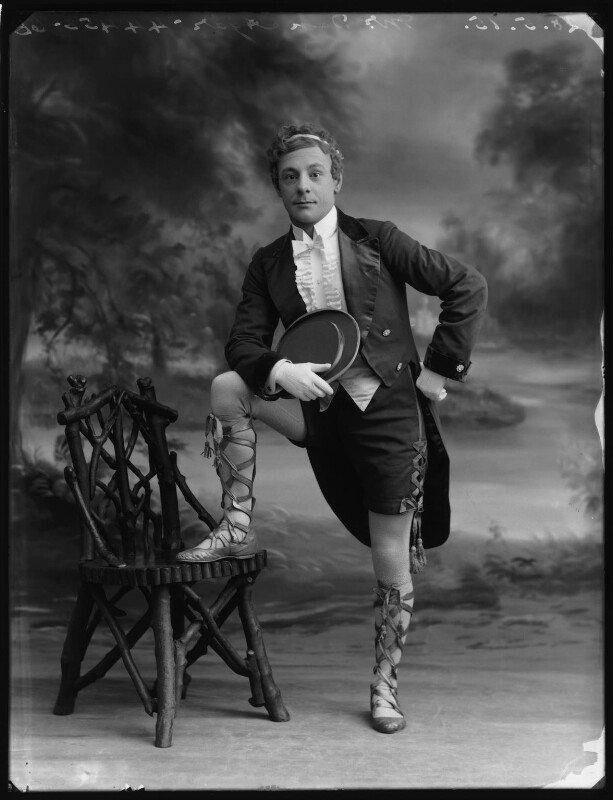 Dan Agar as Simplicitas in the 'Arcadians', by Bassano Ltd, 28 May 1915 - NPG x80672 - © National Portrait Gallery, London