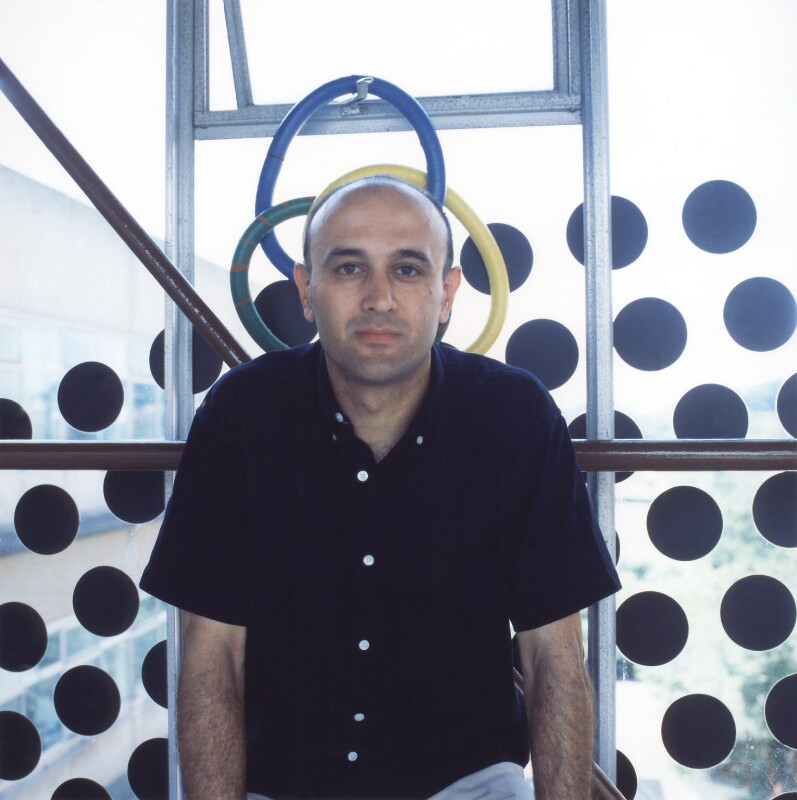 Jim Al-Khalili, by James F. Hunkin, July 2001 - NPG x126339 - © James F. Hunkin / National Portrait Gallery, London