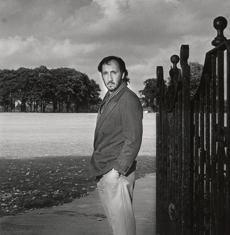 Pete Townshend, by Stephen Hyde, June 1984 - NPG x27438 - © Stephen Hyde / National Portrait Gallery, London