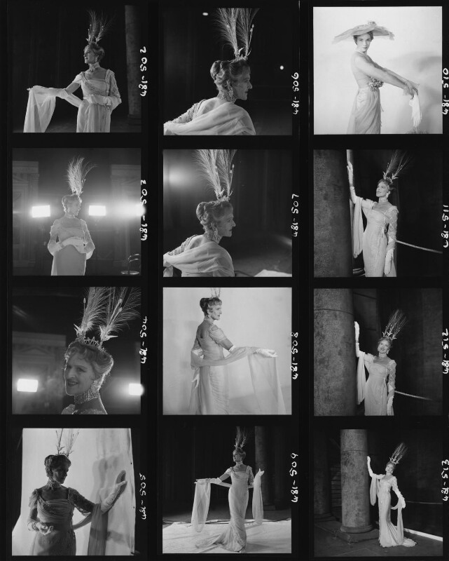Zena Dare (Florence Harriette Zena Dones); Julie Andrews, by Cecil Beaton, 1958 - NPG x126379 - © Cecil Beaton Studio Archive, Sotheby's London