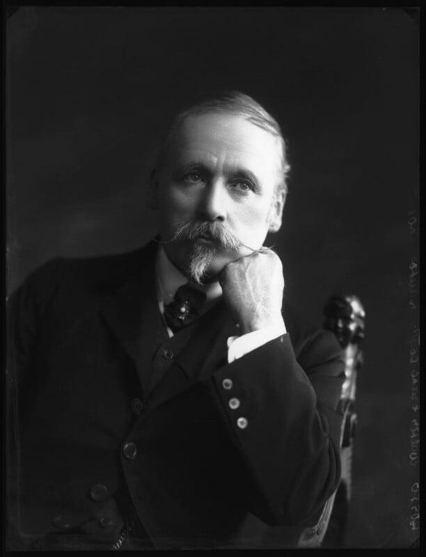 Walter Crane, by Bassano Ltd, 13 April 1911 - NPG x102338 - © National Portrait Gallery, London