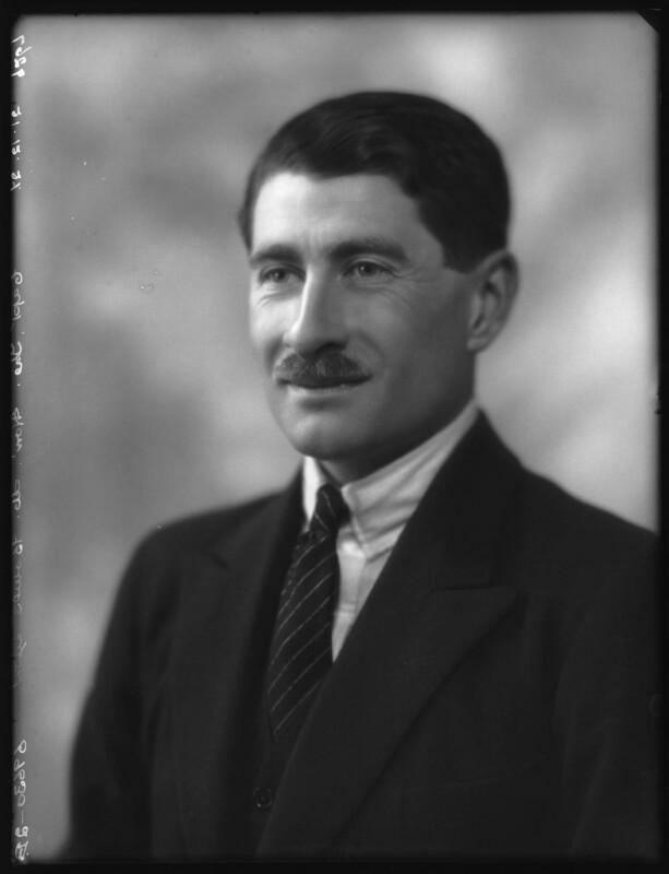 Hon. Michael Claude Hamilton Bowes-Lyon, by Bassano Ltd, 21 December 1927 - NPG x124141 - © National Portrait Gallery, London