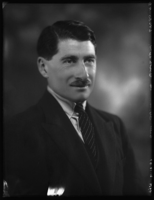 Hon. Michael Claude Hamilton Bowes-Lyon, by Bassano Ltd, 21 December 1927 - NPG x124142 - © National Portrait Gallery, London
